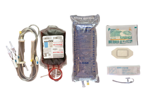 IV & BLOOD SUPPLIES