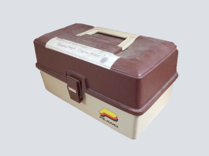 EMT Tackle Box (Brown & Tan)