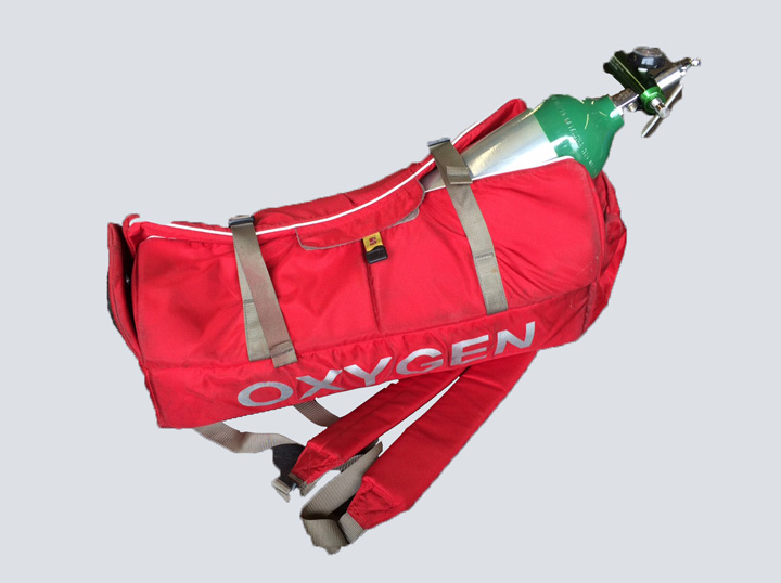 Oxygen Bag W/ Shoulder Straps