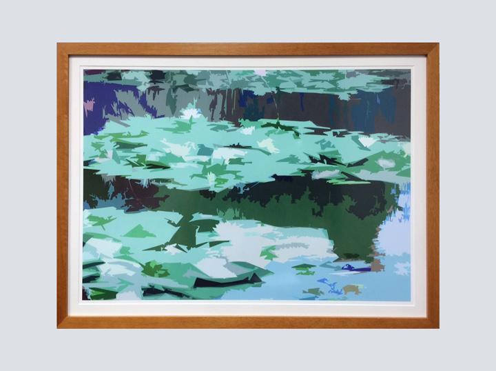 Artwork - Pastel Pond 1