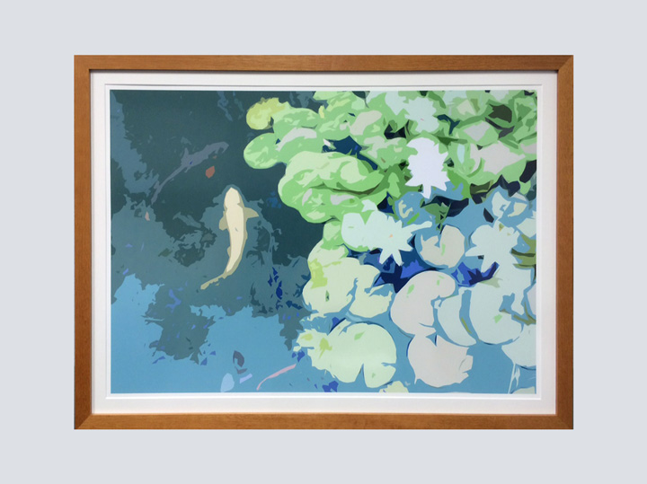 Artwork - Pastel Pond 2