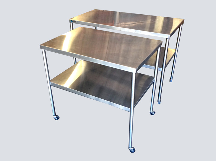 Back Table - Stainless Steel - 3 - 4 Ft.