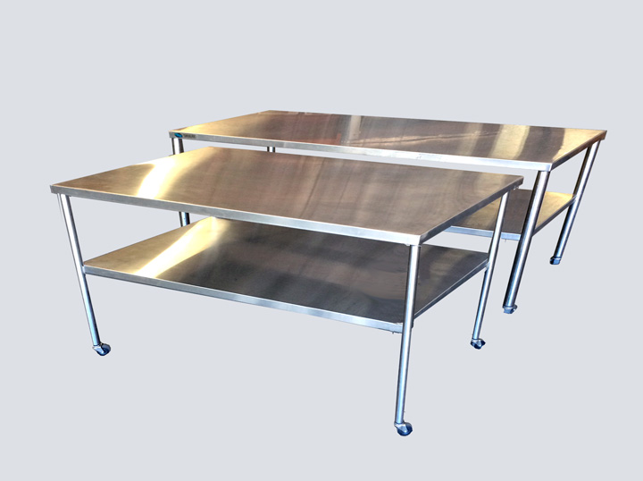 Back Table - Stainless Steel - 5 - 6 Ft.