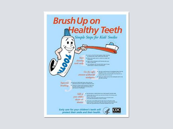 Poster - Brush up - 16 x 20