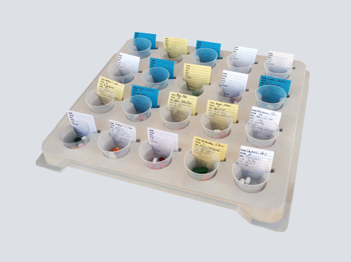 Pill Cup Tray