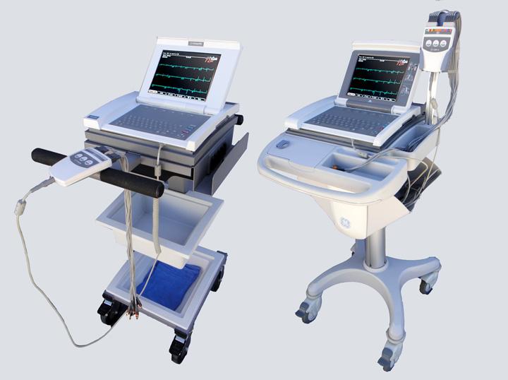 GE MAC 5000 12-lead EKG