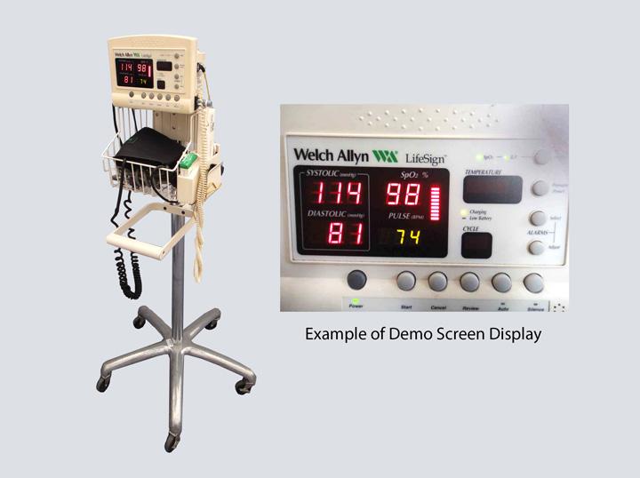 Welch Allyn LifeSign Blood Pressure Monitor