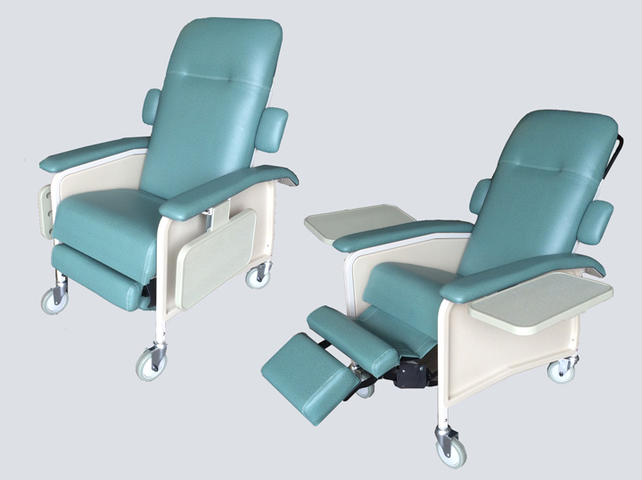 Therapy Sleeper Chair Green