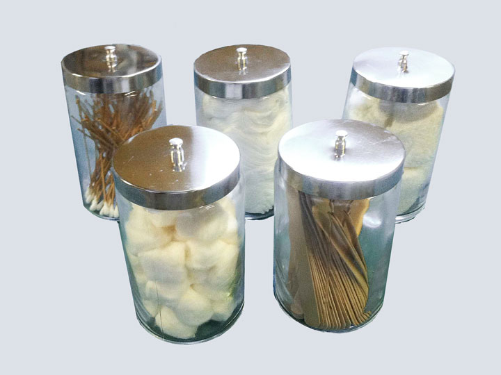 Apothecary/Sundry Jars - Set of 5
