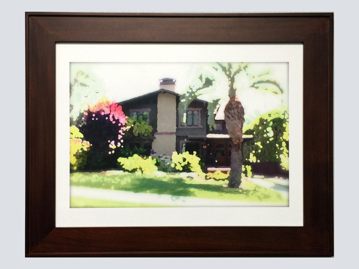 Artwork - Houses 8