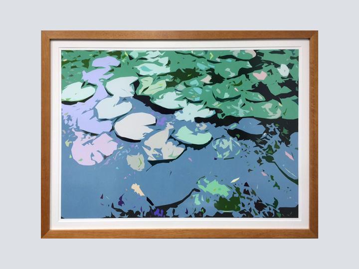 Artwork – Pastel Pond 3