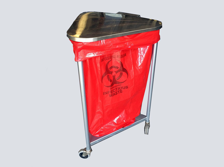 Biohazard Waste Cart