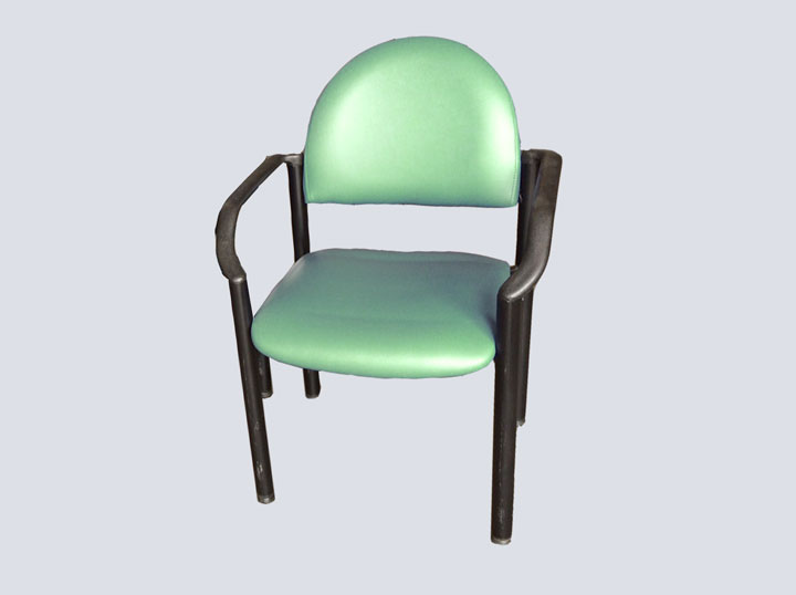 Chair (Green w/Arms)