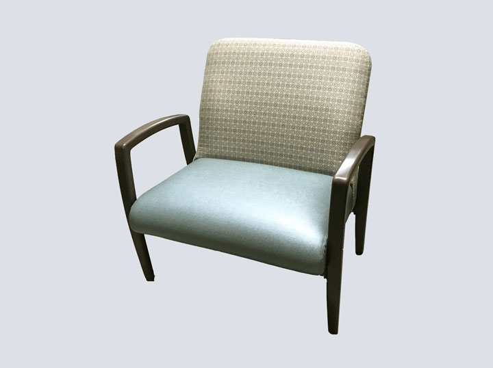 Chair - High End - Bariatric (Steel Blue)