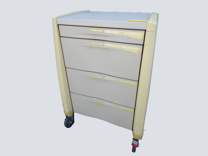 Crash Cart - Artromick - 4 Drawer (Yellow/Grey)