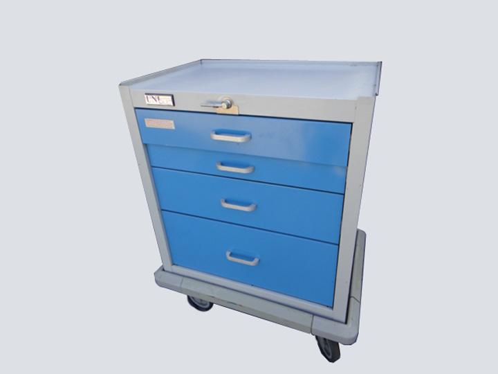 Crash Cart - Unicart - 4 Drawer (Blue)