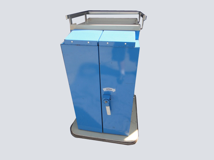 Crash Cart - Uni Cart - 2 Drawer/8 Bin (Blue)