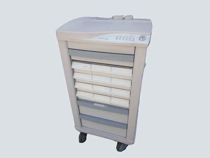 Crash Cart - Lionville - 15 Drawer (Grey)