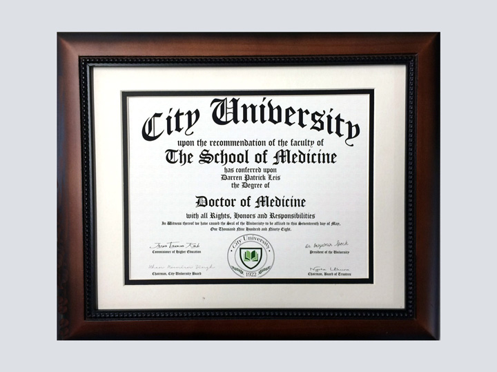 Diploma - Doctor of Medicine