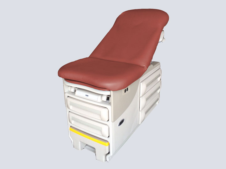Exam Table - Deluxe (Rust)