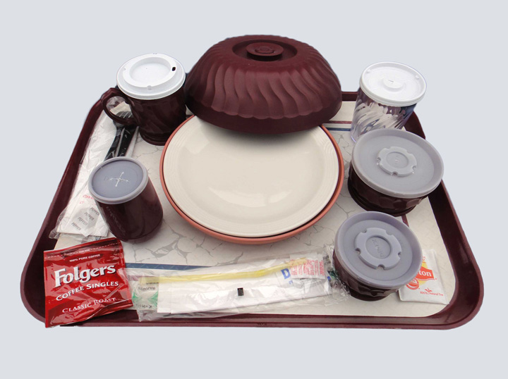 Food Tray - Patient Cafeteria Tray