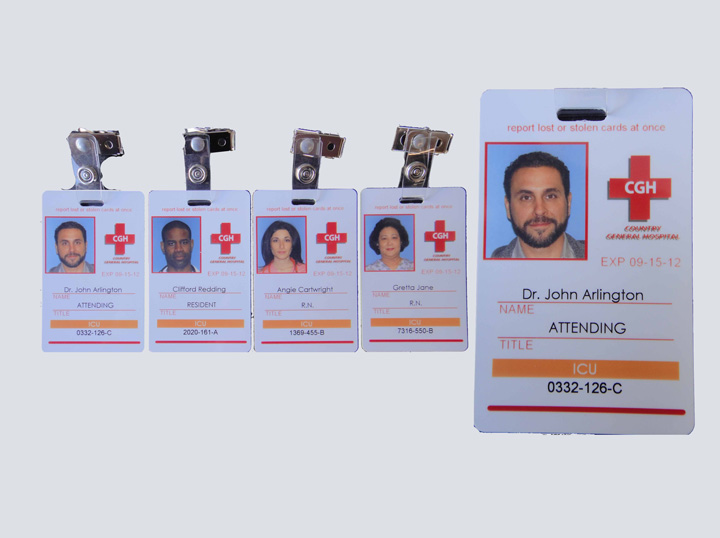 Photo ID Badge Set - County General