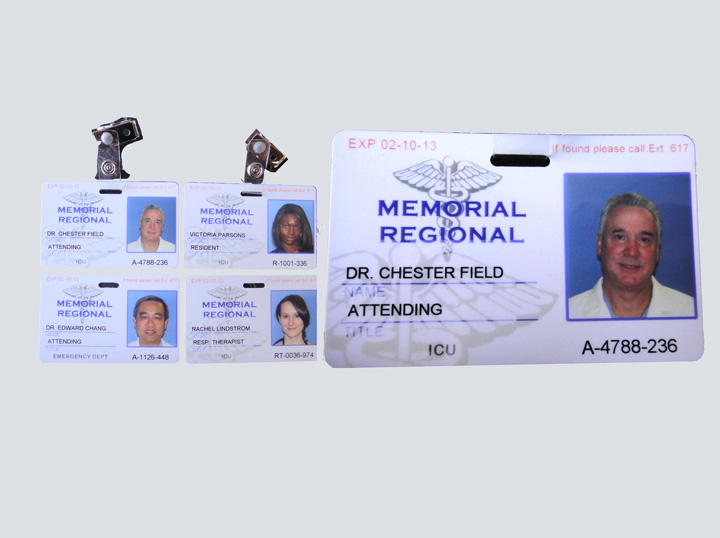 Photo ID Badge Set - Memorial Regional