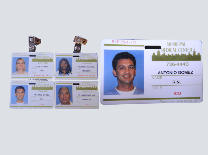 Photo ID Badge Set - Municipal Medical Center