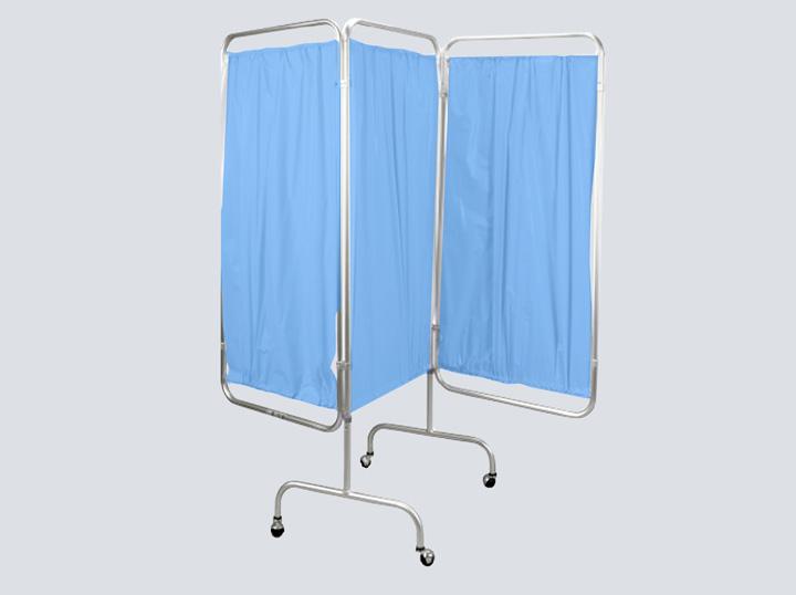 Privacy Screen - Tri-fold Curtain (Blue)