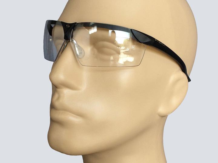 Safety Glasses - Wraparound - Gargoyle (Black)
