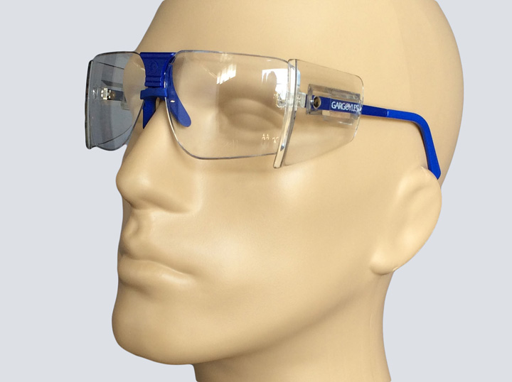 Safety Glasses - Gargoyle (Blue)