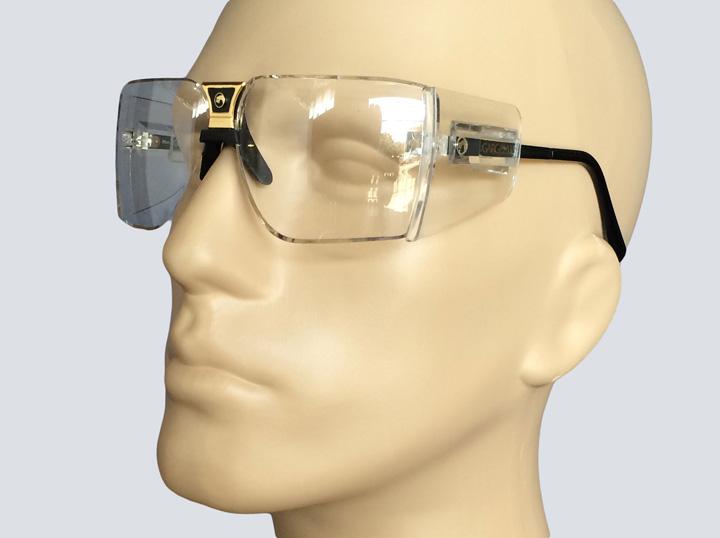 Safety Glasses - Gargoyle (Gold)