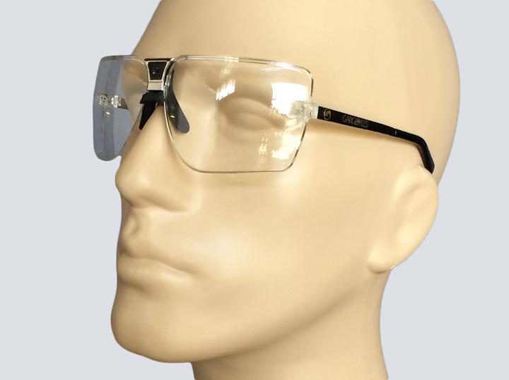 Safety Glasses - Gargoyle (Silver)