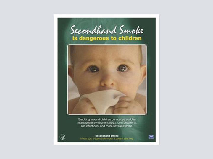 Poster - Second Hand Smoke - 16 x 20