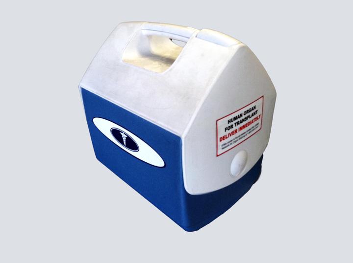 Transplant Cooler (Blue)