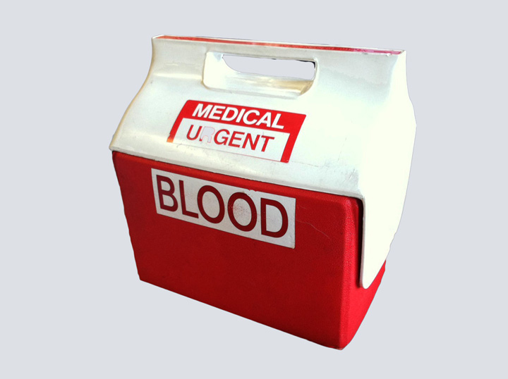 Transplant Cooler (Red/Blood Donor)