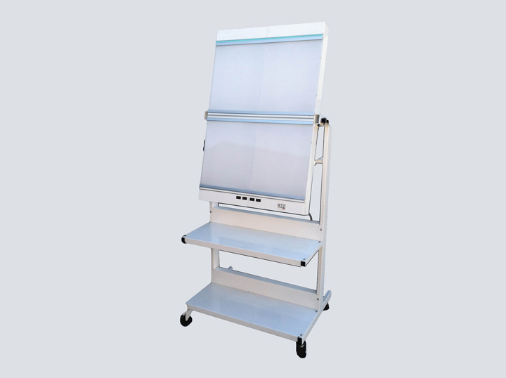 X-ray Viewer - 4-Bay Rolling Unit