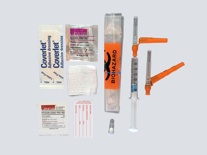 Arterial Blood Gas Kit (ABG)