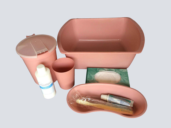 Patient Admit Kit (Pink/Mauve)