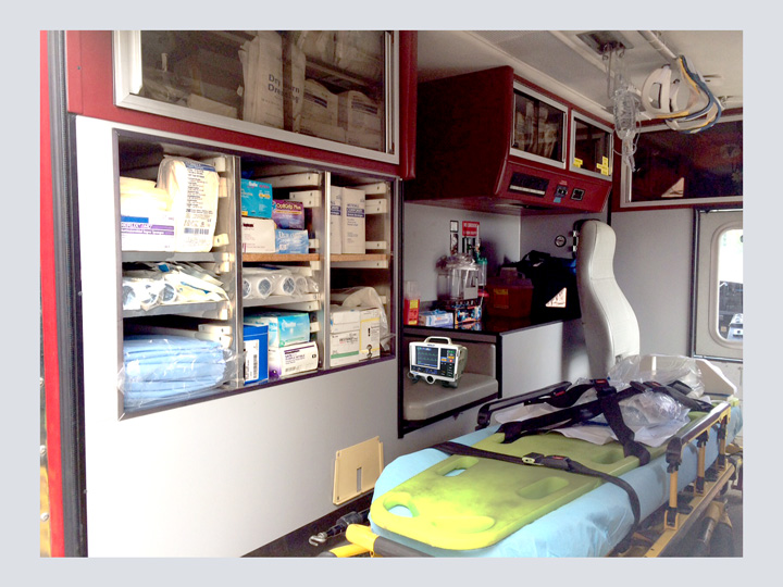Custom Ambulance Dressing