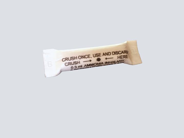 Amyl Nitrite - Ammonia Inhalant