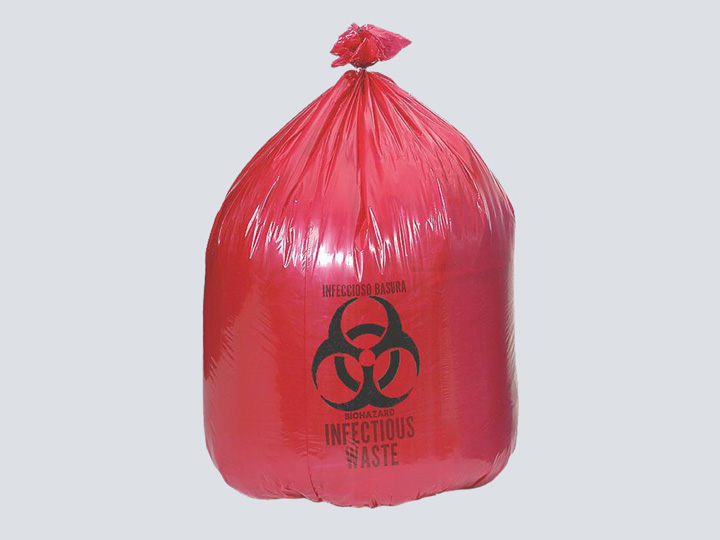 Bag - Biohazard (Red)