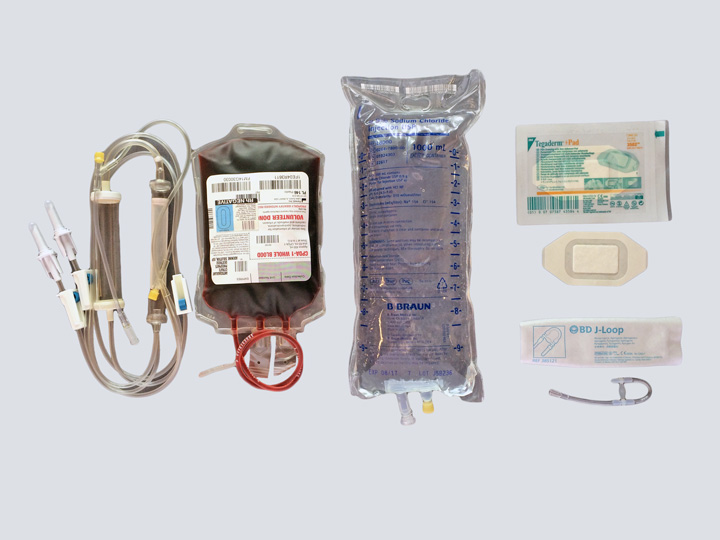 IV Kit - Blood Y