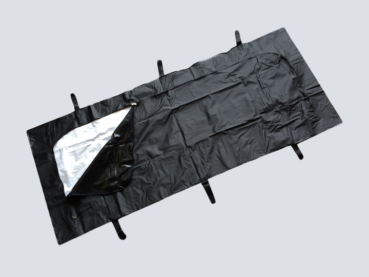 Body Bag - Curved Zipper (Black)