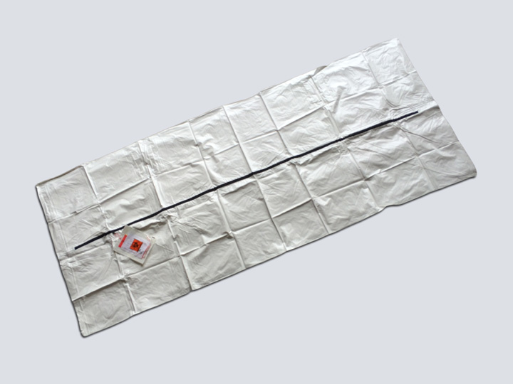 Body Bag - Hospital Post-Mortem Bag (White)