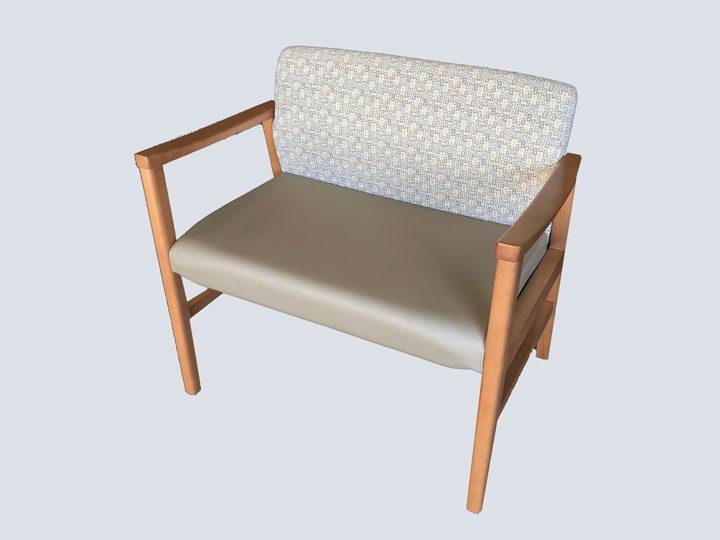 Chair - High End - Bariatric (Cream Pattern)