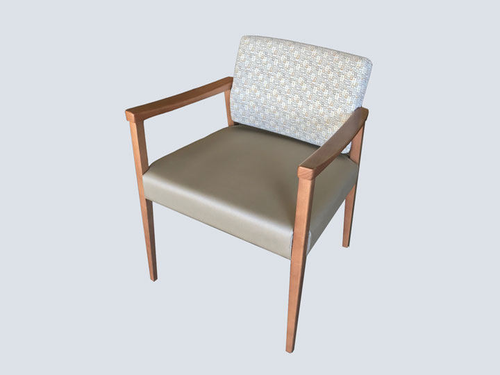 Chair - High End - Single (Cream Pattern)