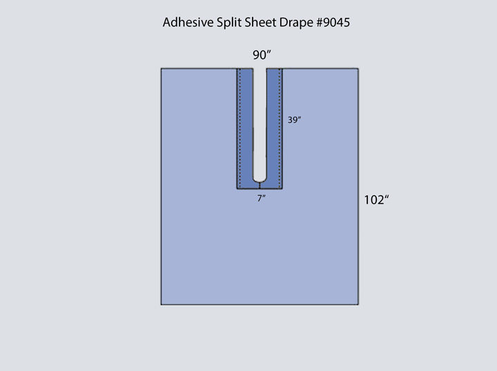 Drape - Adhesive Split Sheet 9045