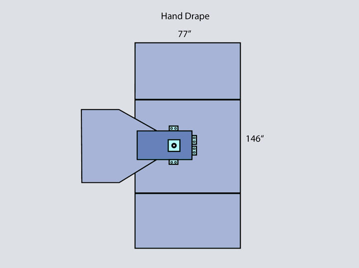 Drape - Hand Drape