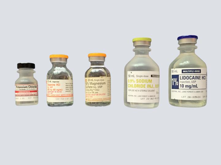 Drug Vials - Various